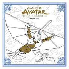 avatar airbender coloring book thinkgeek