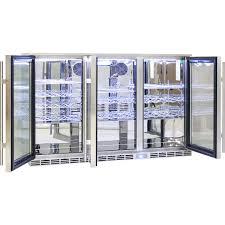 glass door bar rhino 3 door alfresco bar fridge energy efficient