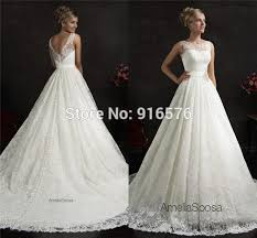 wedding dresses without straps bridal gowns lace wedding dresses sheer straps v back a line