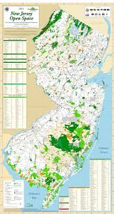County Map Of Nj Njdep Green Acres Enjoy Your Green Acres