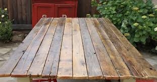 Build A Wood Table Top by Farm Table To Plank Table Diy