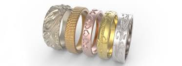 wedding rings online make your own ring online 3d printing i materialise