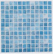 blue mosaic bathroom tiles for interior home design