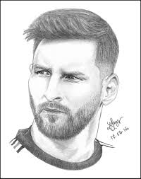pencil sketch of playing football great drawing