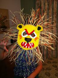 lion mask craft lion mask craft project projects masking and