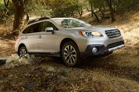 white subaru wagon 2015 subaru outback priced at 25 745 automobile magazine