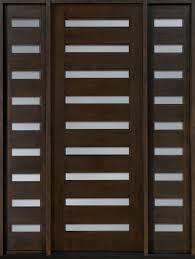modern exterior doors contemporary series solid wood doors