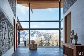 tour architect peter marino u0027s rocky mountain ski retreat