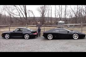 vs porsche 911 turbo 1990s battle 512tr vs porsche 911 turbo autotrader