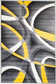summit 21 gray yellow geometric area rug u2013 buy rite rugs