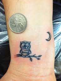 Owl Tattoos - best 25 small owl tattoos ideas on tiny owl