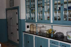 blue kitchen cabinets vintage onyx distressed finish cabinet f