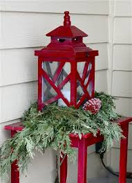 Christmas Decoration For Outdoors by 35 Cool Christmas Lanterns Decor Ideas For Outdoors Gardenoholic