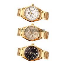luxury gold bracelet watches images Chenxi 006b luxury full of gold men watches stainless steel quartz jpg