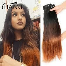 ombre weave hair 3pcs ombre hair weave bundles 1b