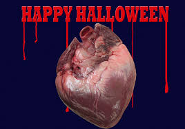 halloween computer beating heart halloween desktop computer wallpaper background and