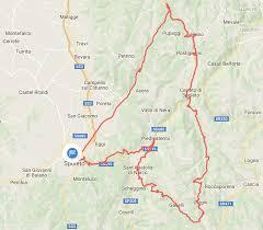 Norcia Italy Map Autumn Road Biking In Umbria U0027s Valnerina The Slow Lens