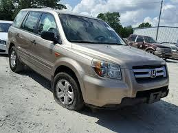 2006 honda pilot lx auto auction ended on vin 5fnyf28186b025054 2006 honda pilot lx