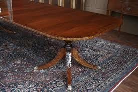 duncan phyfe pedestals mahogany pedestal table legs