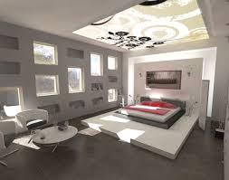 interior design bed room with modern design idea unique cahndelier