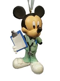 ornament doctor mickey mouse