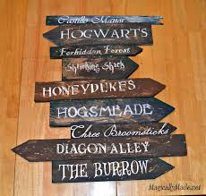 Harry Potter Diy Decor