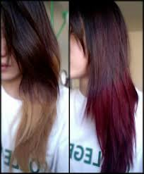 coloring over ombre hair auburn ombre hair coloring youtube