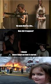 Walking Dead Carol Meme - walking dead fire girl meme by cycopompadour on deviantart