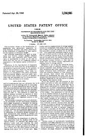 patent us2280905 flotation of magnesite and the like magnesium