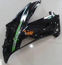 2013 2016 kawasaki zx6r classic oem green motorcycle fairing kit