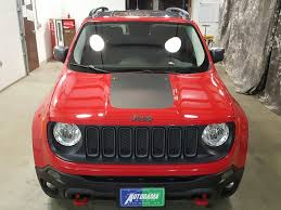 red jeep renegade 2016 2016 jeep renegade trailhawk city nd autorama auto sales