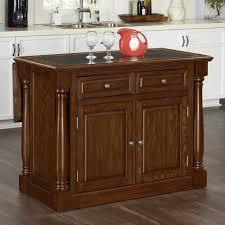 oak kitchen island monarch oak kitchen island w granite top homestyles