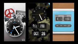 ditch the stock app for this designer ios clock