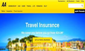 aa travel insurance quote 44billionlater