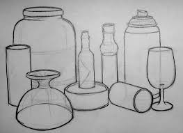drawing skills learning log cylinders and shadows