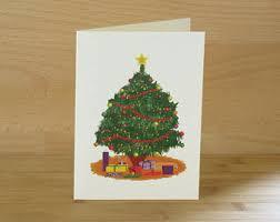 tree card etsy