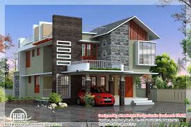 Inspiring Contemporary Modern Home Design Kerala Floor Plans House