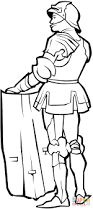 castle and knights coloring pages getcoloringpages com