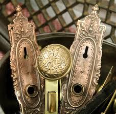 Brass Door Knobs Found In Ithaca Ornate Brass Door Plates U0026 Pair Of Ornate Brass