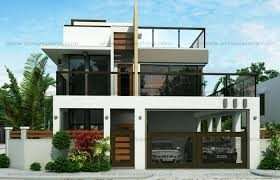 modern two house plans modern 2 storey house designs homes floor plans within 2storey plan