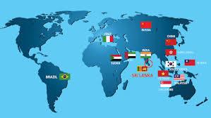 World Map Korea Sri Lanka World Map Roundtripticket Me