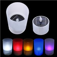 outdoor led tea lights solar power led tea light tealight candle flameless flickering xmas
