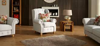 White Leather Wingback Chair Furniture Blue Leather Wingback Chair With Ottoman And Nailhead