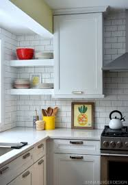 Subway Tiles Kitchen by Kitchen Dos And Donts From A First Time Diy Subway Tile Backsplash