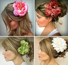 flower hair clip flower in your hair for 3 and all supplies available at