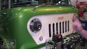 jeep forward control 2016 sema show 1958 jeep forward control 170 youtube