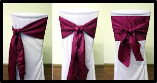 chair sash ties chair sash all rentals