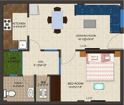 Floor Plans For 800 Sq Ft Apartment Rts Katyani Apartments In Sector 51 Faridabad Price Location