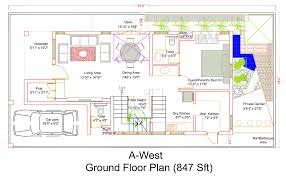ground floor plan apartment design plans bangalore interior design green shapes