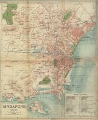 Map Of Singapore 1925 Map Of Singapore Advisory For Shophouses U0026amp Boutique